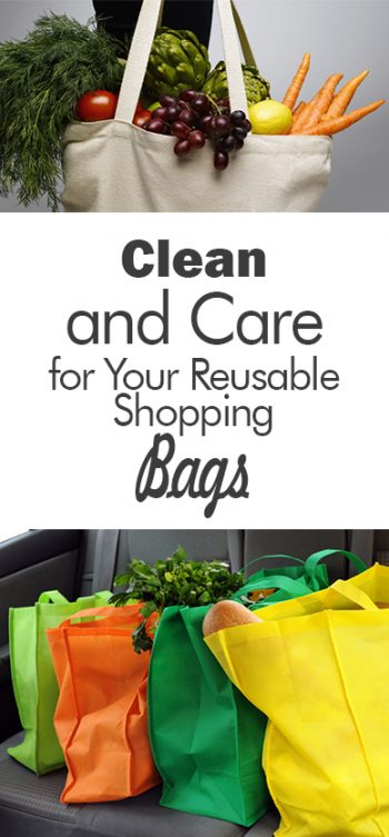 Clean and Care for Your Reusable Shopping Bags - 101 Days of Organization| Cleaning Reusable Shopping Bags, How to Clean Shopping Bags, Caring for Shopping Bags, Cleaning, Cleaning Hacks, Cleaning Tips #Cleaning #ShoppingBags