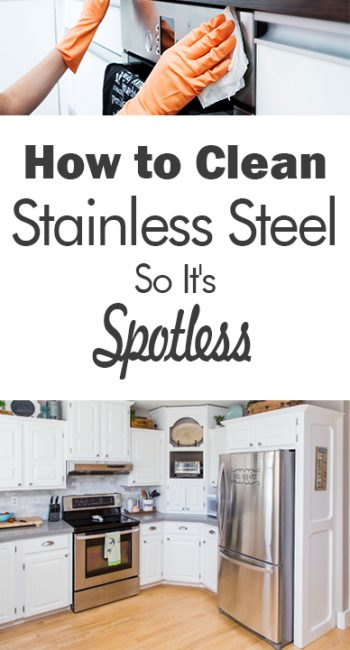 How to Clean Stainless Steel So It's Spotless - 101 Days of Organization| Clean Stainless Steel, How to Clean Stainless Steal, Cleaning, Cleaning TIps and Tricks, Cleaning Hacks, DIY Clean