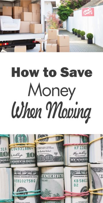 How to Save Money When Moving - 101 Days of Organization| Save Money, Money Saving, Money Saving Hacks, How to Save Money, Moving, Moving Hacks, DIY Moving Hacks