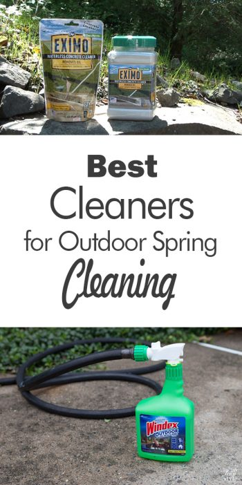 Best Cleaners for Outdoor Spring Cleaning - 101 Days of Organization  Spring Cleaning, Spring Cleaning Checklist, Spring Cleaning TIps, Spring Cleaning Hacks, Outdoor Cleaning Tips, Outdoor Cleaning Checklist, Outdoor Cleaning Hacks #OutdoorCleaningTips #OutdoorCleaningHacks #SpringCleaning #SpringCleaningChecklist #OutdoorCleaningChecklist
