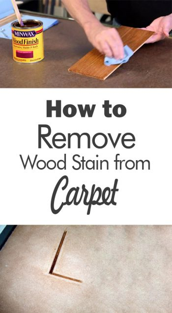 How To Remove Wood Stain From Carpet 101 Days Of Organization Stains