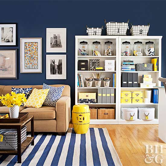 110 Ways to Declutter and Organize Your Living Room - 101 Days of ...