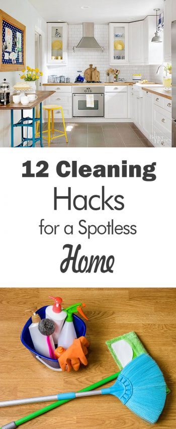 12 Cleaning Hacks for a Spotless Home - 101 Days of Organization| Declutter and Organize, Decluttering Ideas, Declutter, Declutter Your Home, Decluttering Home