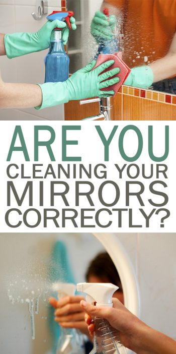 Are You Cleaning Your Mirrors Correctly? - 101 Days of Organization| Cleaning Hacks, Cleaning Tips, Cleaning, Cleaning Mirrors Without Streaks, Best Way to Clean Mirrors