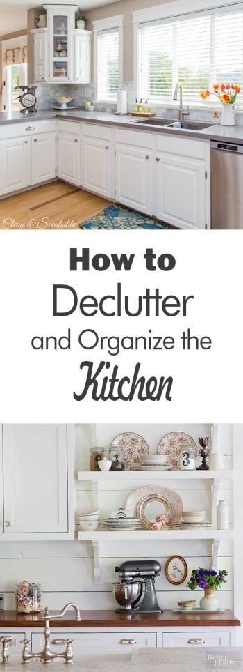 How to Declutter and Organize the Kitchen - 101 Days of Organization  Organization Ideas, Declutter and Organize, Decluttering Ideas, Declutter, Decluttering Home, Kitchen Decluttering, Kitchen Declutter, Kitchen Organization, Organization, Organization Ideas for the Home, Kitchen Organization DIY
