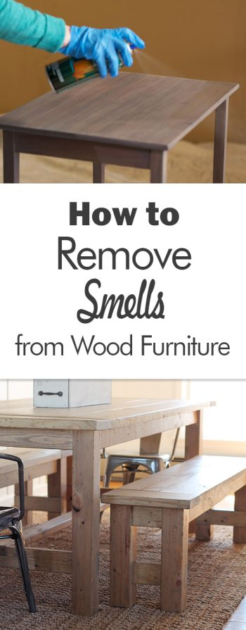 How to Remove Smells from Wood Furniture - 101 Days of Organization| Furniture Care, Furniture DIY, Caring for Furniture, Cleaning, Cleaning Hacks, Cleaning Tips