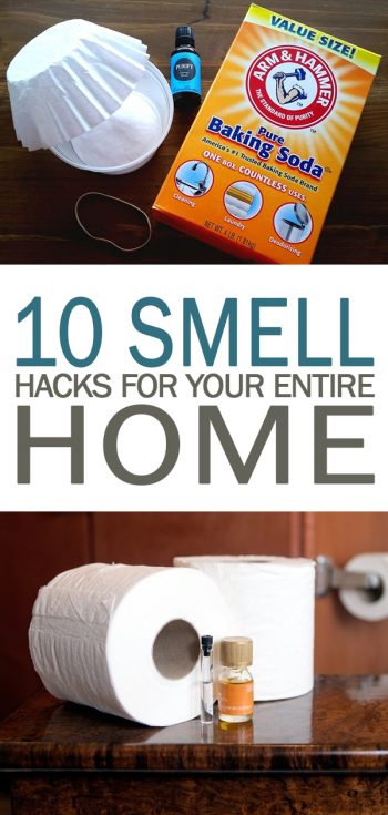10 Smell Hacks for Your Entire Home - 101 Days of Organization| Smell Hacks, Smell Hacks for Home, Smell Hacks DIY, Smell Hack Houses, Smell Hacks for Car, Cleaning, Cleaning TIps, Cleaning Hacks
