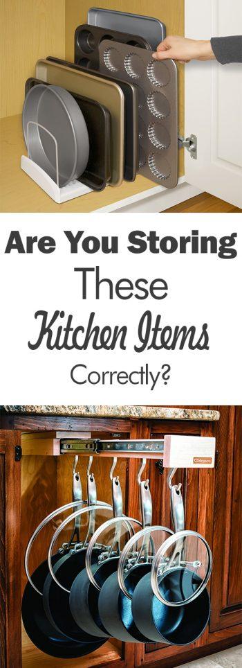 Kitchen Storage | Kitchen Storage Hacks | Kitchen Organization | DIY Kitchen Organization | Kitchen Storage Tips and Tricks | Organization | Home Organization | Kitchen
