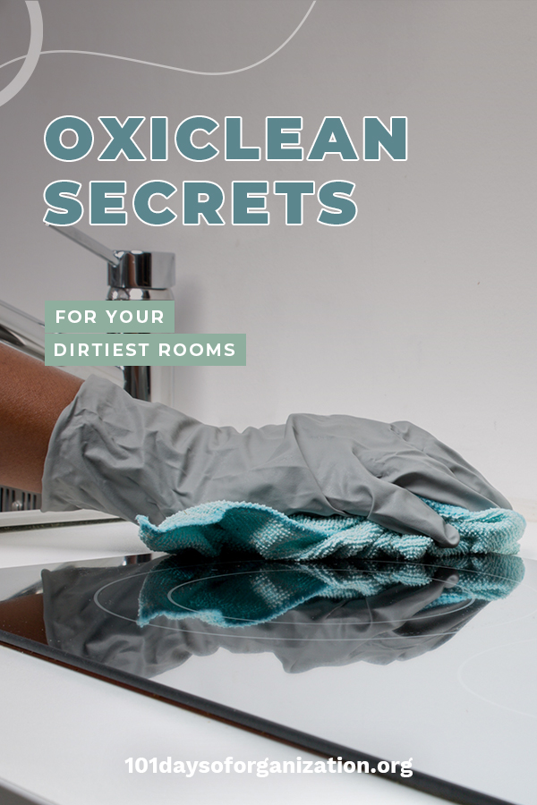 When it comes to cleaning, knowing a few hacks doesn't hurt. Try These OxiClean Hacks for laundry, carpet and more. Read the post to learn how to use these hacks. #OxiCleanHacks #cleaninghacks #cleaningtips #101daysoforganizationblog