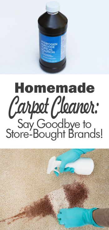 Homemade Carpet Cleaner: Say Goodbye to Store-Bought Brands! | DIY Carpet Cleaner | Make Your Own Carpet Cleaner