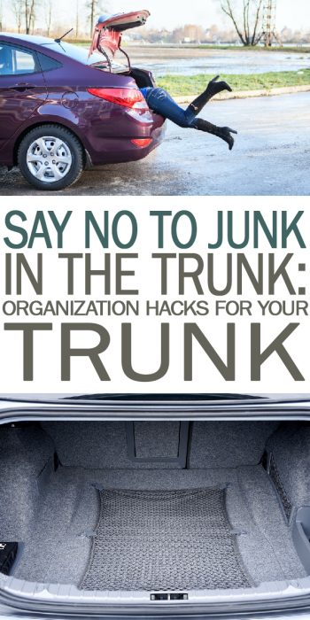Organization Hacks for Your Trunk | Organization Hacks | Organization | Hacks for Organizing Your Trunk | Trunk Organization | Organization Tips and Tricks | Trunk Organization Tips and Tricks