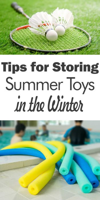 Winter Storage Tips | Winter Storage Tips and Tricks | Summer Toy Storage | Summer Toy Storage Tips and Tricks | Store Summer Toys for the Winter | How to Store Summer Toys During the Winter