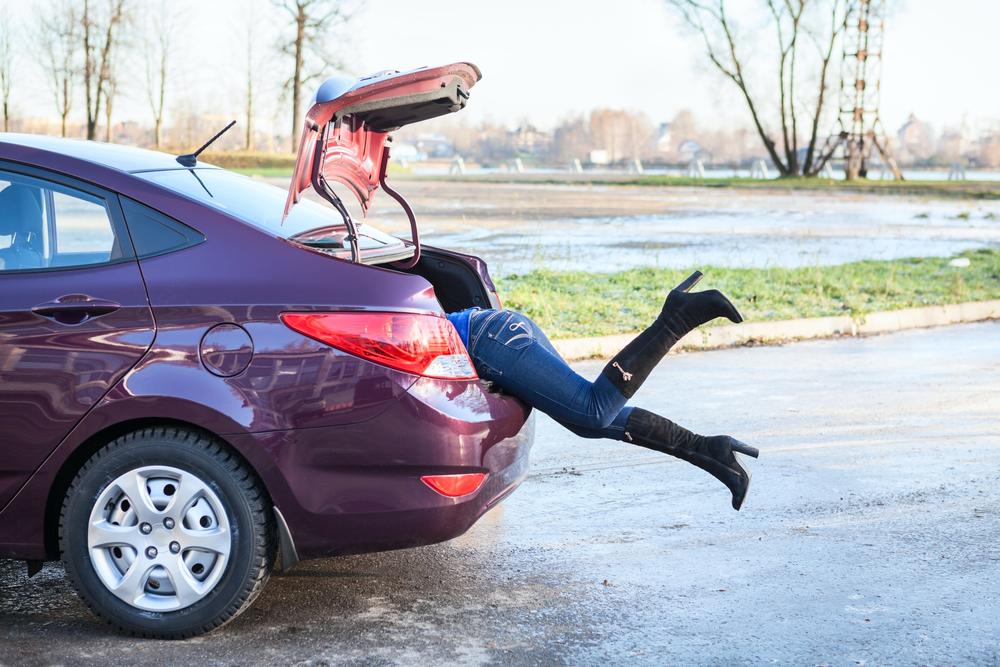 русских девушки сами лезут в машину пальцем