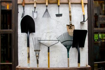 Organizing Garden Tools | Tips and Tricks for Organizing Garden Tools | Garden Tool Organization | Garden Tool Organization Ideas | Organizing Garden Tools Ideas | Garden | Garden Tools