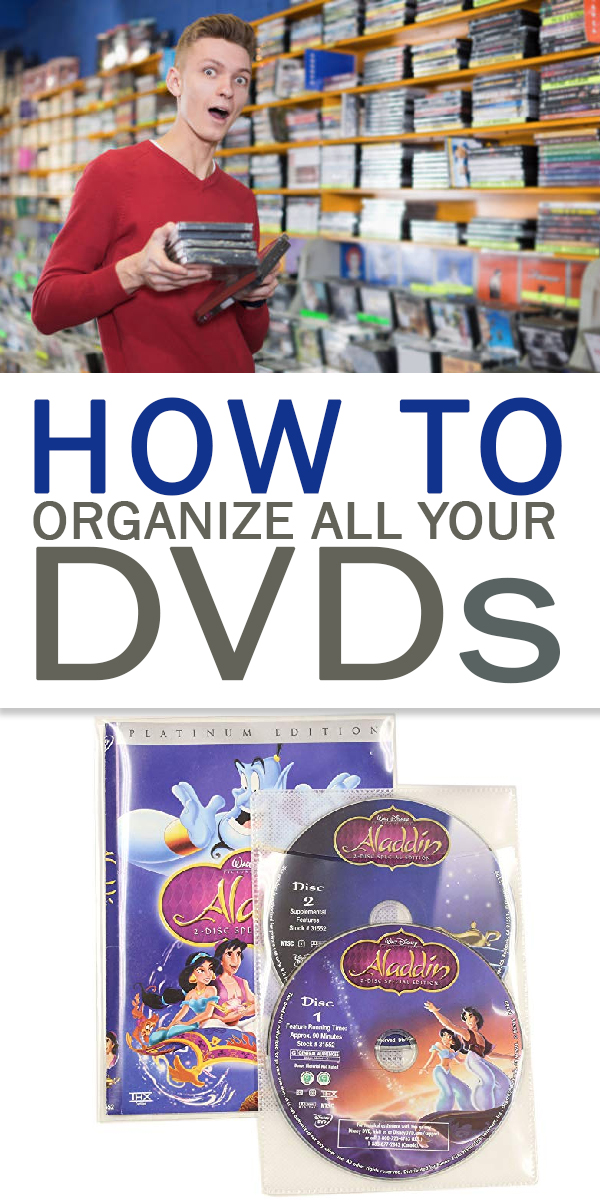 dvd   dvd organization   organization   media   declutter