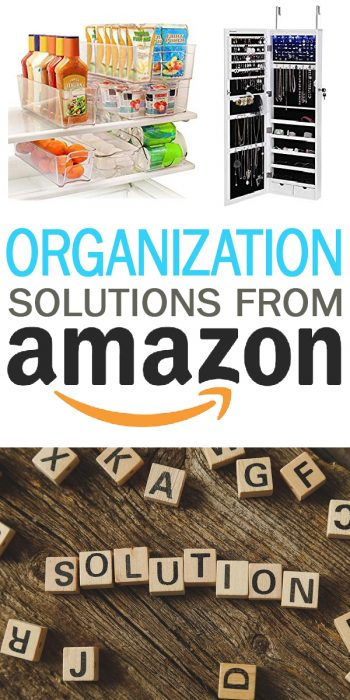 Organization Solutions | Organization Solutions from Amazon | Amazon Organization Solutions | Organization | Solutions | Organization Tips and Tricks