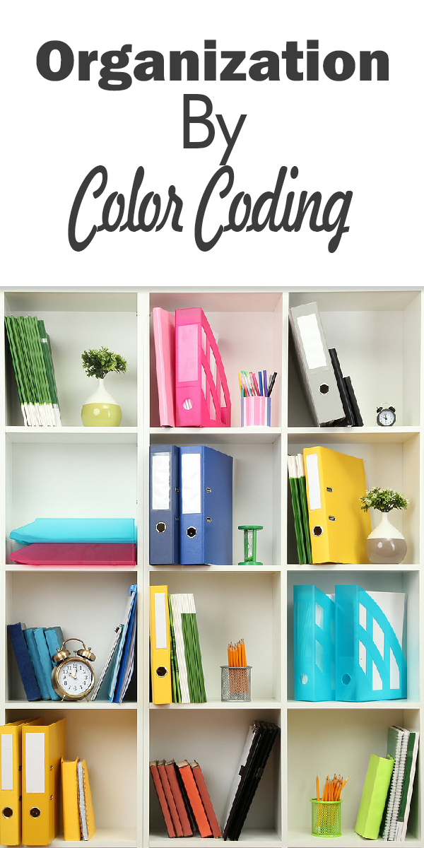 organization by color coding | organization | color | color coding | organize | tips and tricks | life hacks | get organized | how to