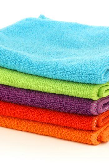 clean with a microfiber cloth | microfiber cloth | cleaning | cleaning tips | cleaning hacks | microfiber