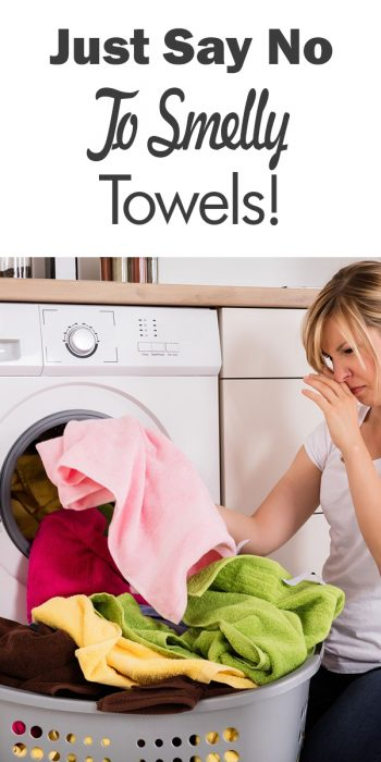 smelly towels | towels | laundry | mildew | hard water build up | fresh towels | how to get fresh smelling towels