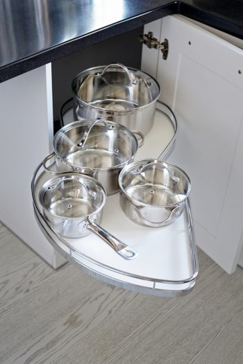 There is nothing worse than trying to figure out how to store pots and pans. We have 4 on how to store your pots and pans that will work in any kitchen. Check them out!