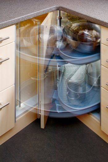 Is there anything worse than having unorganized cabinets? These tips to help you organize your lazy Susan will change your kitchen for the better. Check them out.