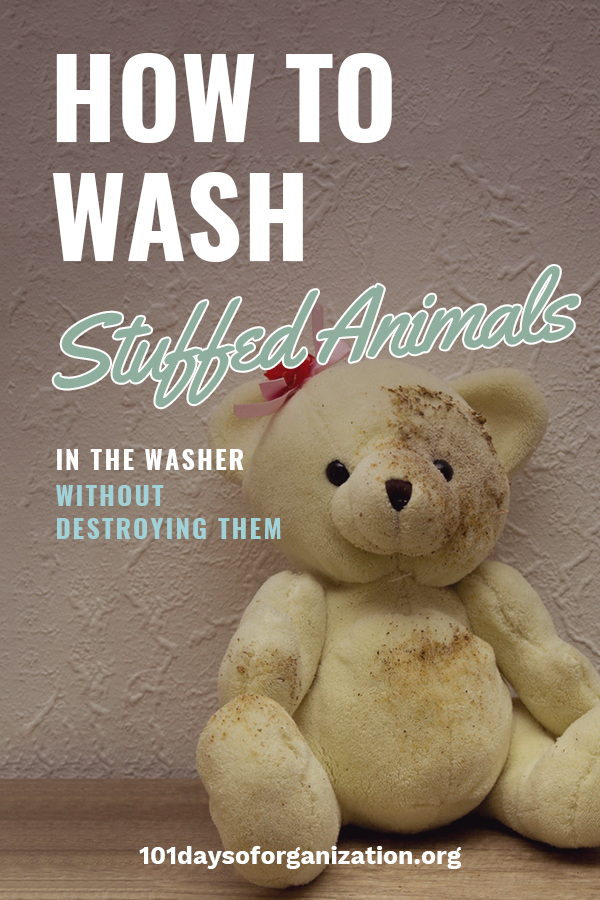 So your child's stuffed animal is looking a little grungy, but you don't want it to fall apart when you wash it. I understand. We have tips to help you feel assured that your child's beloved stuffed animal will survive being washed in the washing machine, and you can rest assured knowing it is clean. Take a look at how you can wash stuffed animals in a washing machine without destroying them. #laundrytips #howtwashstuffedanimals #cleaningtips