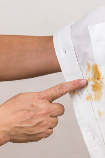 I'm pretty sure gravy is a favorite for most people during the holidays, until it spills on something. Here is how to remove gravy stains from your linens.