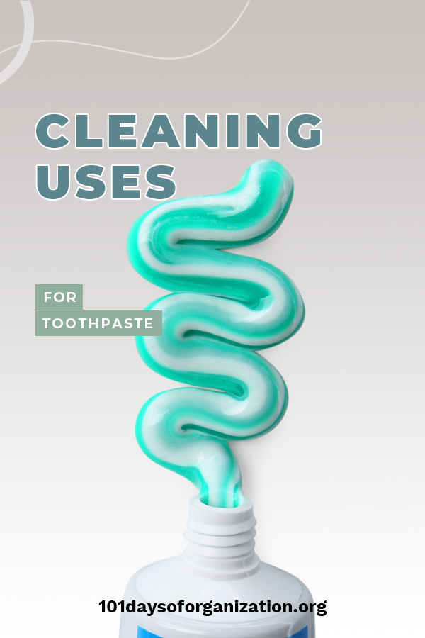 We all know that toothpaste cleans our teeth, but did you know it is also great for cleaning other things? Yep, that's right! While your teeth may be white, there are other things that could benefit from the paste as well. Getting curious? Keep reading to see why toothpaste isn't just for teeth. #cleaningtips #cleaningwithtoothpaste