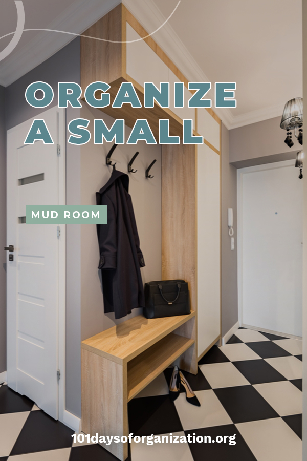 A mud room is all about having a place to keep things organized. But if you have a small mud room it isn't always easy because space is an issue. However, that doesn't mean it can't stay organized and we will show you how with these 8 items to organize a small mud room. Learn tips and tricks to making the small space feel larger. Keep reading to learn what the 8 items are. #mudroomorganization #organizationtips