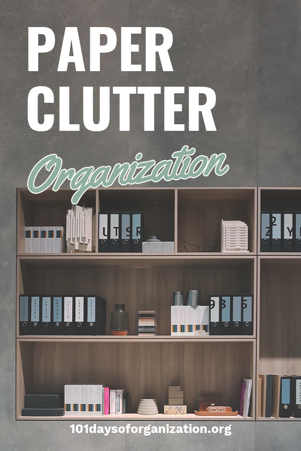 If your house is like most homes, the biggest clutter problem is with paper. Think about the amount of paper you collect every day. Where do you put it all? This topic is a common question and I want to share with you some ideas about how to organize paper clutter and discuss storage solutions. These tips make a big difference and are easy to do. Keep reading to learn more. #paperclutter #organizepaperclutter #storagesolutions