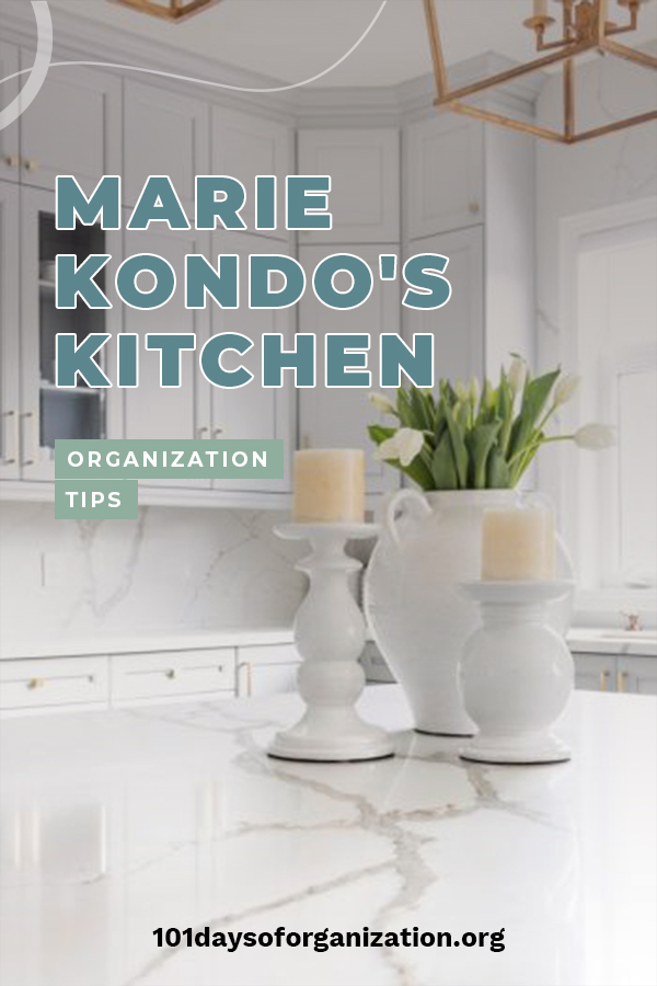 If I was to be honest, my kitchen tends to be messy and not organized. So, I tried using kitchen organization tips from Marie Kondo and I instantly noticed a big change. No longer was my kitchen constantly cluttered. I made a space for everything and I am making sure those things get put back in the right spot. If you need kitchen organization tips, Marie Kondo is the answer. Keep reading to learn how you can organize your kitchen STAT! #mariekondo #organizationtips #howtoorganizeyourkitchen
