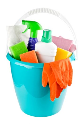 So you'd like your home to be white glove clean, but you want it to be as easily said as it is done. Well, we can't make it quite that easy, but we can share our cleaning tips for lazy people. Try keeping all of your cleaning supplies in a bucket.
