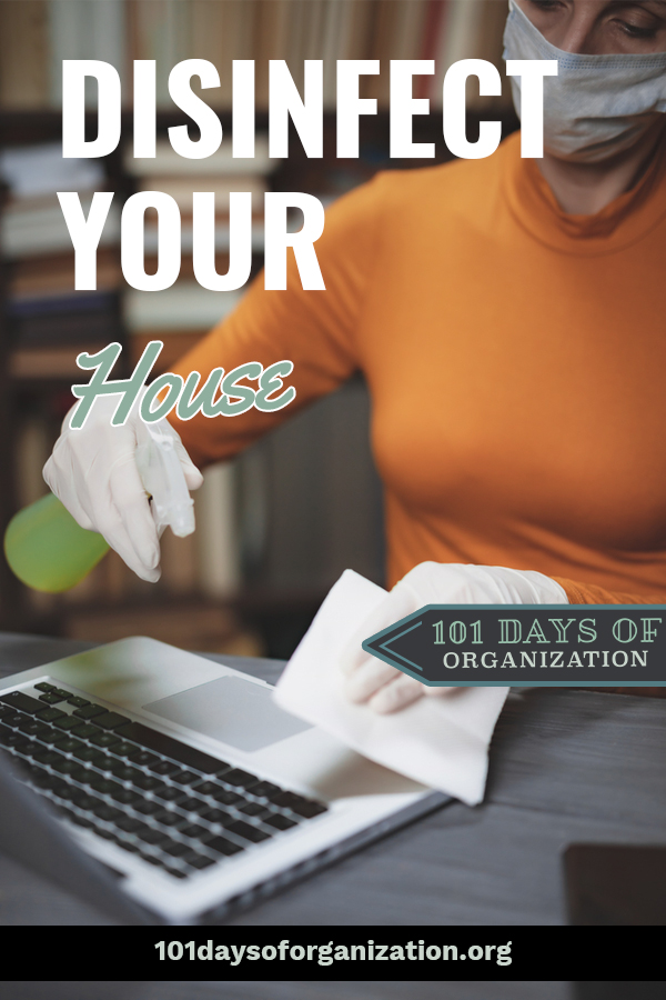 COVID-19 defense begins at home. Get a look at the CDC guidelines to disinfect your house against Corona virus. CDC guidelines differ a little if you have a sick person in your home. Learn what to do to protect yourself and your family. #101Daysoforganizationblog #COVID19Defense #Disinfectyourhouse