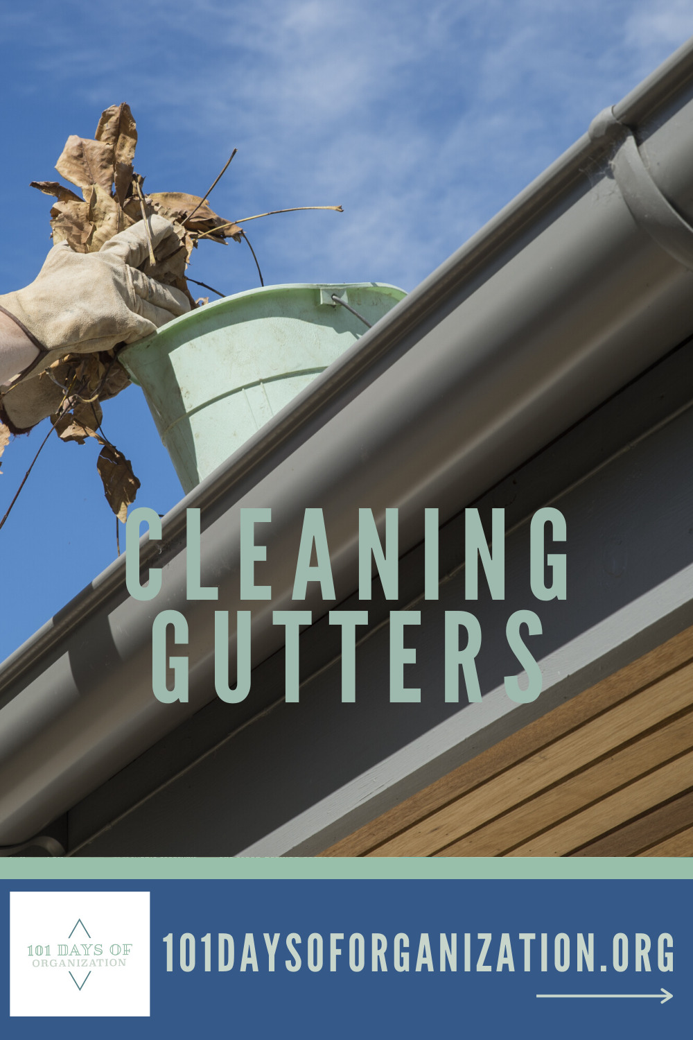 Cleaning gutters is one of those home maintenance tasks many dread, but I am not sure why. Let me show you the easy way to clean your gutters and keep your house safe from water damage. #cleaninggutters #howtocleangutters #homemaintenance