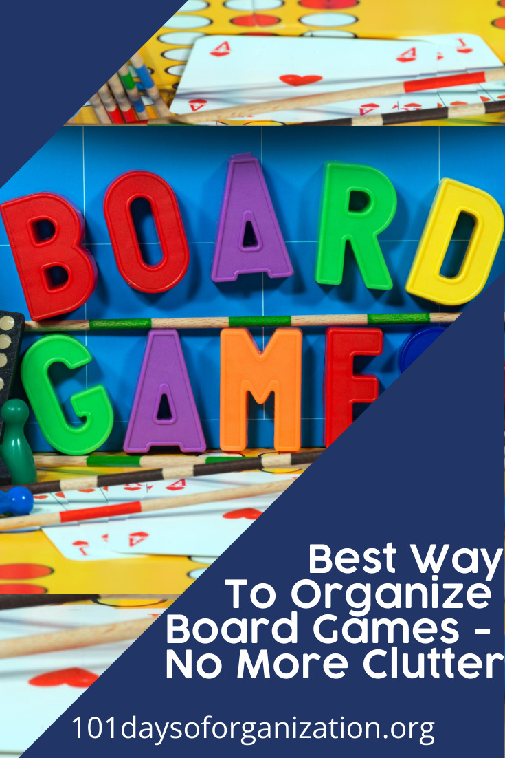Do you love board games? I must admit, I am a gamer. But, what I don't love is finding a place to store and organize them. But, I now have a few ideas that have made a huge difference for me and they will for you as well. Keep reading to learn more. #organization #storagesolutions #101daysoforganizationblog