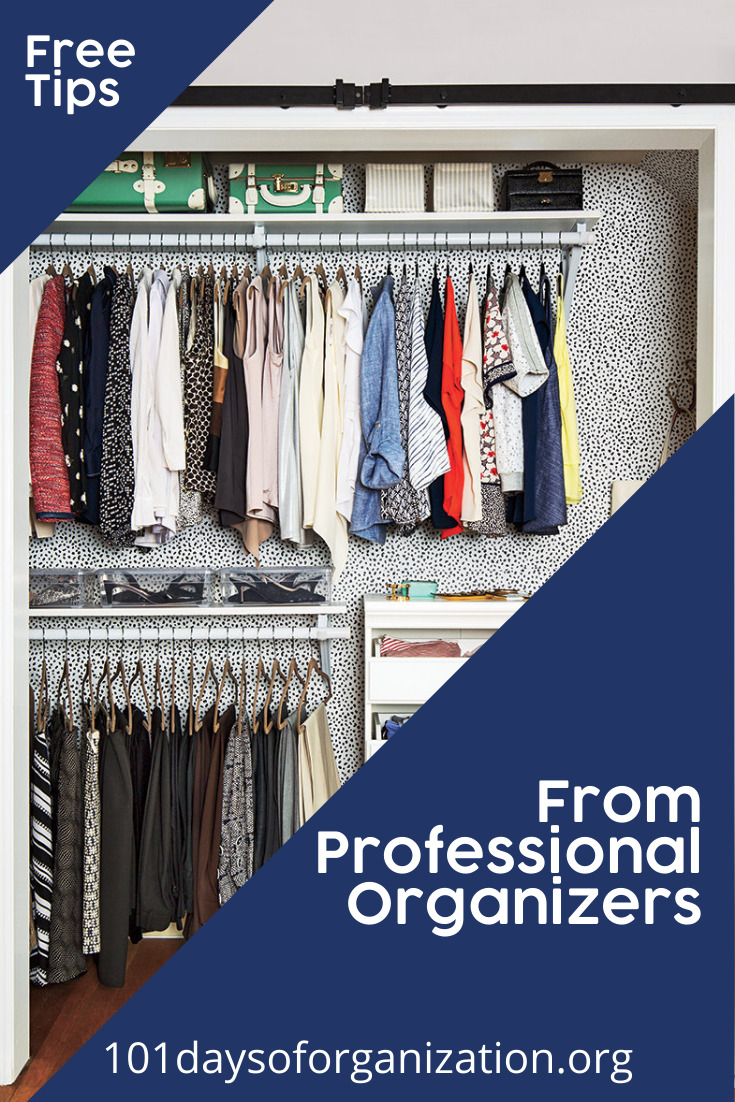 Just what is a professional organizer, you ask? Are they a real thing? Well, yes! Professional organizers help those who are too busy, too confused, too tired, or too stressed to deal with our clutter and our time management issues effectively by ourselves.  Now you can be one for yourself! (Or just use these tips to get your own life organized! #organizedlife #professionalorganizer