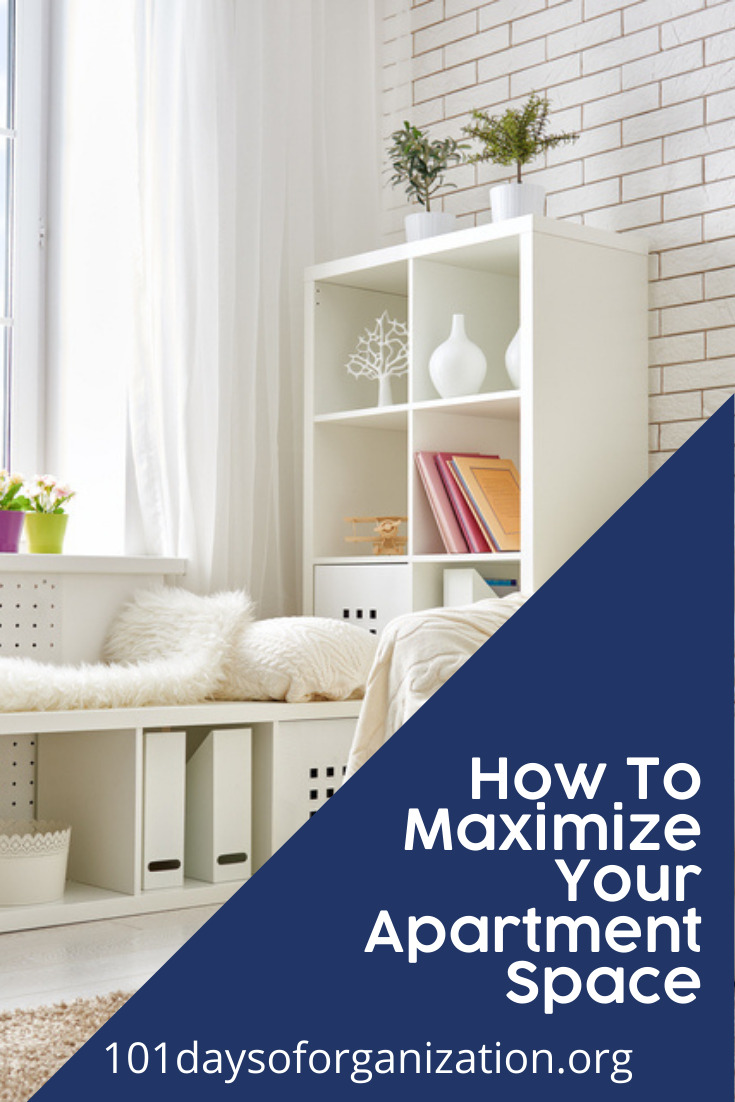 101daysoforganization.org will have you feeling relaxed in a more organized and clean home. Organization is not just for keeping things tidy! Try out these easy ideas to make your small space feel larger just by reducing clutter.
