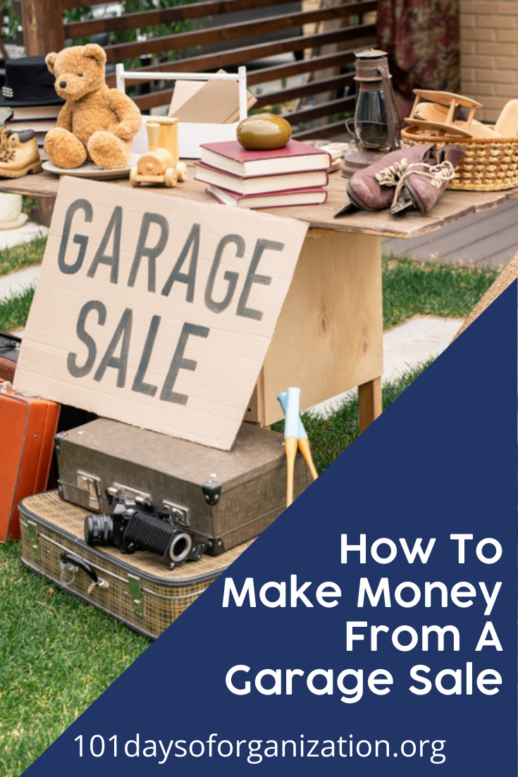 101daysoforganization.org is the best place to go to find out how to purge the clutter from your life! If you're cleaning out some of your old things, you might consider holding a garage sale. If you do, make sure you sell these items to really profit.