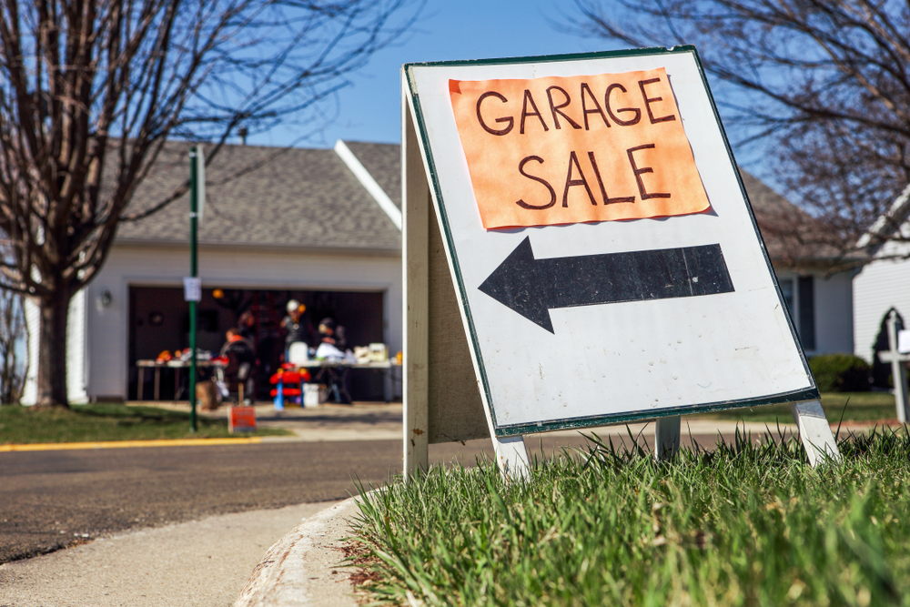 Items To Sell At A Garage Sale