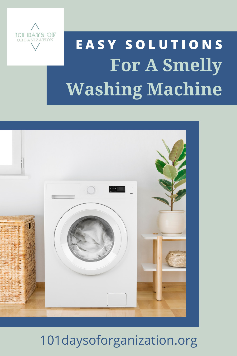 101daysoforganization.org is your destination for all things organization and cleaning. Find ideas and tips to help you clean even the trickiest spots. Learn how you can finally get rid of that funky smell coming from inside your washer!