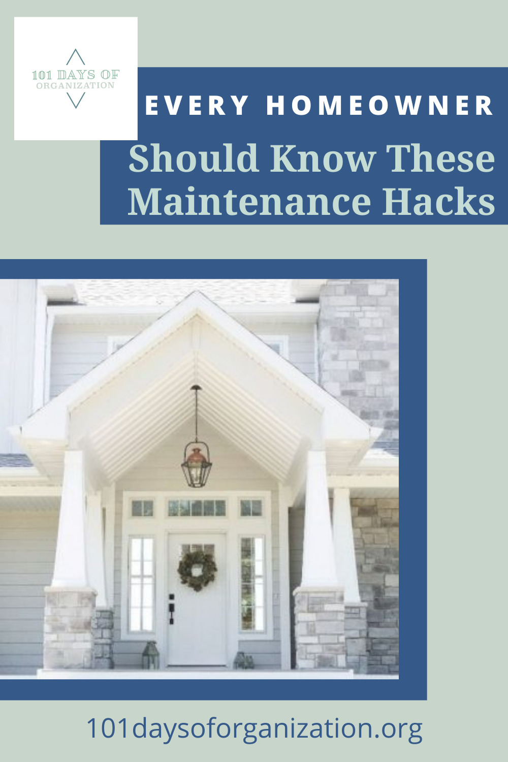 101daysoforganization.org has easy tips and tricks to make getting and staying organized a breeze. Find the best ways to tackle the messes you've been avoiding. These home maintenance hacks will make your life a whole lot easier.