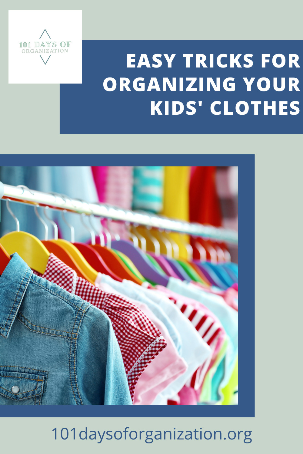 101daysoforganization.org has all the best ideas for cleaning up the sticky messes in your life! Find easy ways to get your home more organized than ever before! Get started with these super easy kid clothing organization ideas!