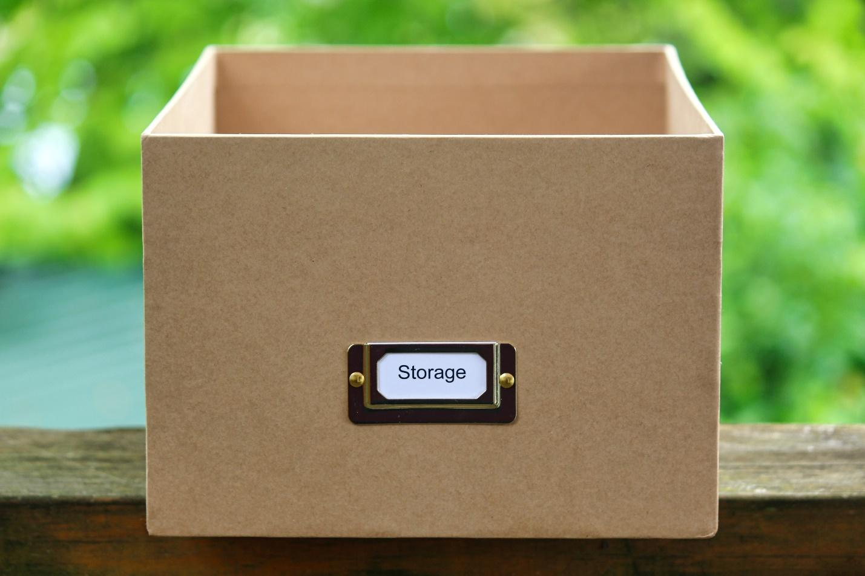 Storage label