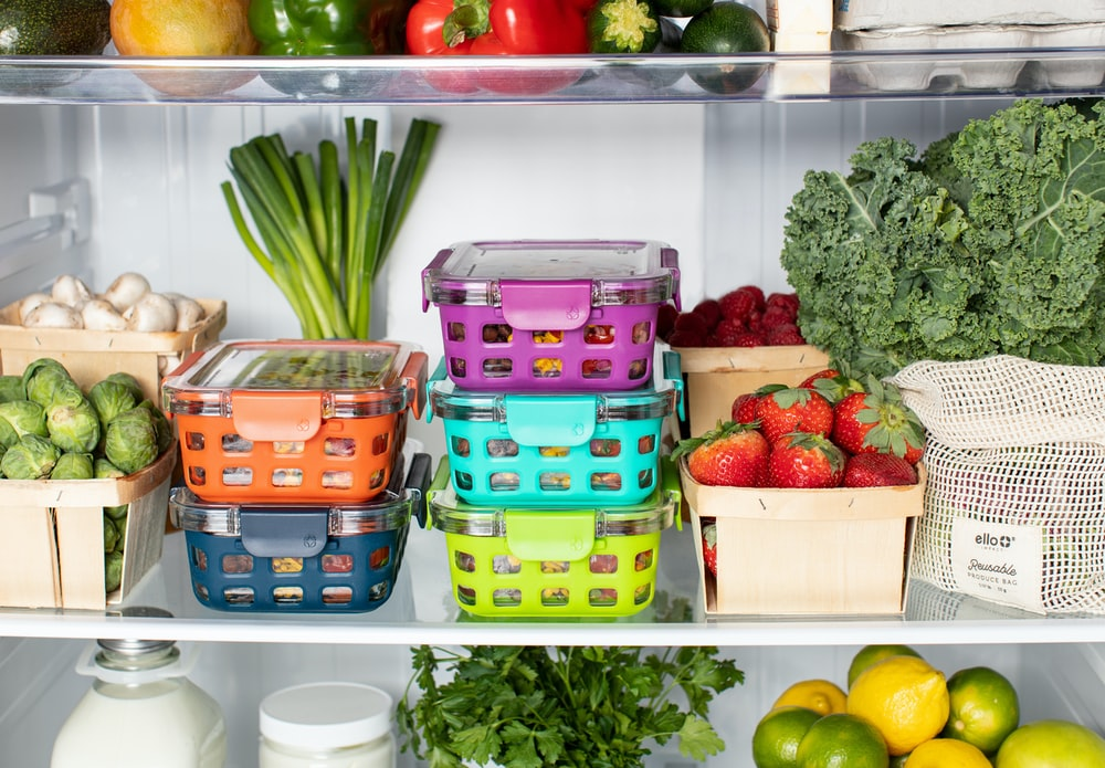 Effectively organized food